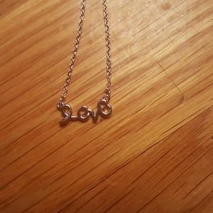NWOT LOVE Rose Gold Necklace from Maurices in 2019